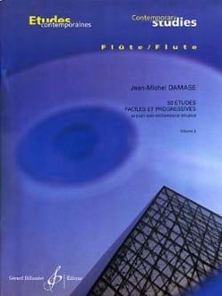 Jean-Michel Damase - 50 Easy studies and progr. - Volume 2 - Sheet Music - di-arezzo.com