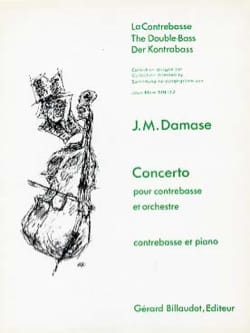 Concerto - Contrebasse - Jean-Michel Damase - laflutedepan.com