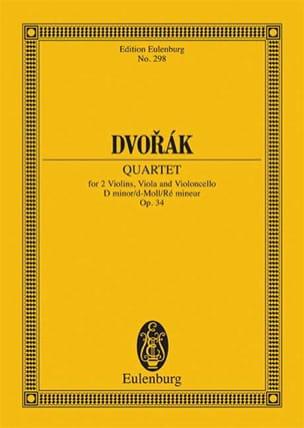 Streich-Quartett d-moll, op. 34 (B 75) d-moll - laflutedepan.com