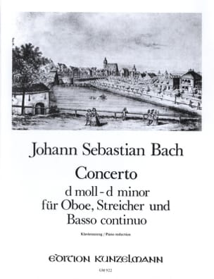 BACH - Konzert D-Moll, BWV 1059 - Oboe Klavier - Sheet Music - di-arezzo.co.uk
