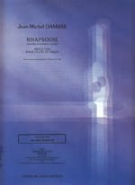 Jean-Michel Damase - Rhapsodie – Flûte piano - Partition - di-arezzo.fr