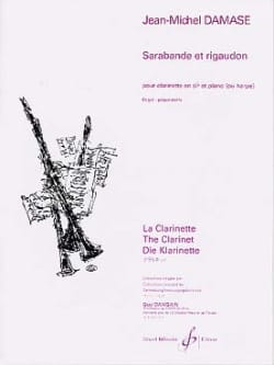 Jean-Michel Damase - Sarabande and Rigaudon - Sheet Music - di-arezzo.co.uk
