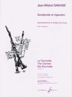 Jean-Michel Damase - Sarabande et Rigaudon - Partition - di-arezzo.fr
