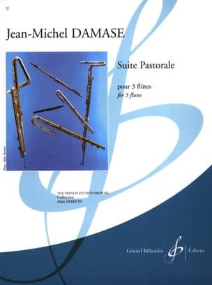 Suite Pastorale - 3 Flûtes Jean-Michel Damase Partition laflutedepan