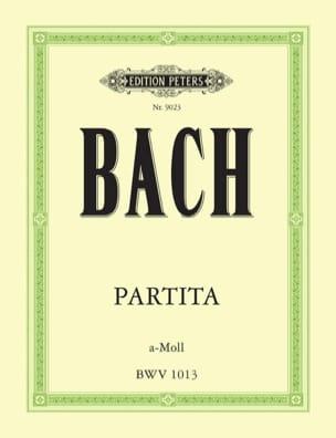Partita a-moll BWV 1013 - Johann Sebastian Bach - laflutedepan.com