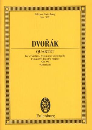Streichquartett F-Dur, op. 96 B 179 - Partitur - laflutedepan.com