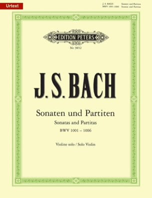BACH - Sonaten und Partiten, BWV 1001-1006 - Sheet Music - di-arezzo.co.uk