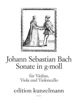 Johann Sebastian Bach - Sonate g-moll – Vl Va Vl - Stimmen - Partition - di-arezzo.fr