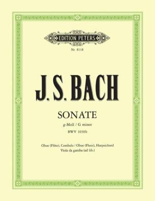 BACH - Sonate g-moll BWV 1030b - Oboe Flöte Bc - Partition - di-arezzo.fr