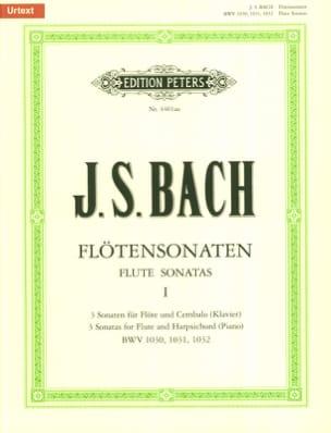 Flötensonaten - Bd. 1 (BWV 1030, 1031, 1032) - laflutedepan.com