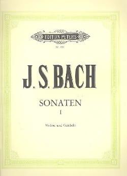 BACH - Sonaten BWV 1014-1016 - Partition - di-arezzo.fr