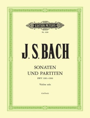 BACH - Sonatas and partitas, revision C. Flesh - Sheet Music - di-arezzo.com