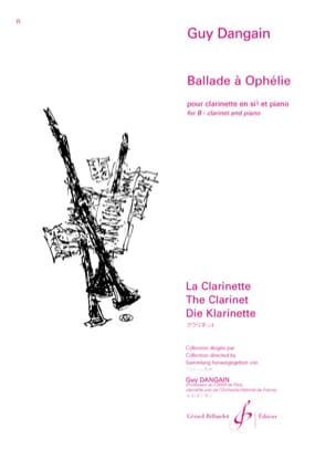 Guy Dangain - Ballad in Ophélie - Sheet Music - di-arezzo.com