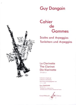 Guy Dangain - Cahier de Gammes - Partition - di-arezzo.fr