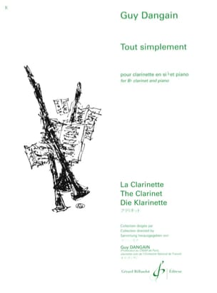 Guy Dangain - Tout simplement - Partition - di-arezzo.fr