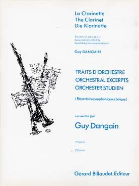 Traits D'orchestre Volume 2 Guy Dangain Partition laflutedepan