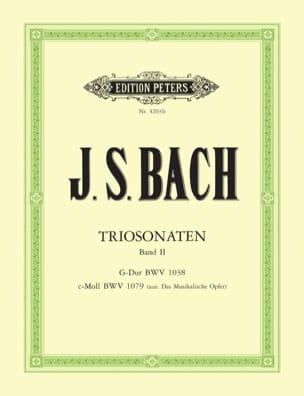 Johann Sebastian Bach - Triosonaten – Bd. 2 : G-Dur BWV 1038 - c-moll BWV 1079 - Partition - di-arezzo.fr
