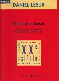 Chanson à danser Daniel-Lesur Partition Violon - laflutedepan