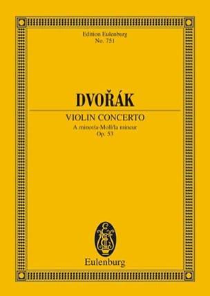 DVORAK - Violin-Konzert a-moll, op. 53 B 108 a-moll - Sheet Music - di-arezzo.com