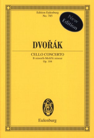 DVORAK - Violoncello-Konzert h-moll, op. 104 B 191 h-moll - Partition - di-arezzo.co.uk