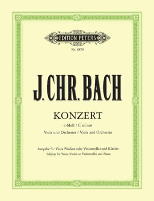 Johann Christian Bach - Concerto in C minor - Alto - Sheet Music - di-arezzo.com