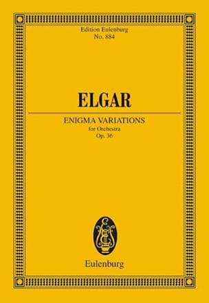 Enigma-Variationen - Conducteur ELGAR Partition laflutedepan
