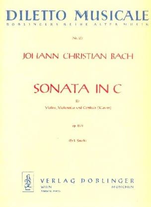 Johann Christian Bach - Sonata C-Dur op. 15 Nr. 1 –Stimmen - Partition - di-arezzo.fr