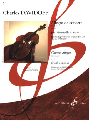 Charles Davidoff - Allegro of Concert op. 11 - Sheet Music - di-arezzo.co.uk