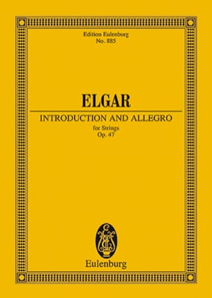 ELGAR - Introduktion und Allegro - Sheet Music - di-arezzo.com