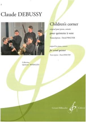 Claude Debussy - Children's Corner (extraits) - Quintette à vent - Partition - di-arezzo.fr