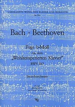 Fuge b-moll BWV 867 -Streichorchester - Partitur + Stimmen laflutedepan