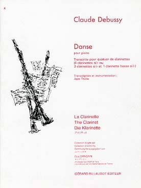Claude Debussy - Danse - Partition - di-arezzo.fr