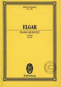 ELGAR - Klavier-Quintett a-moll - Sheet Music - di-arezzo.com