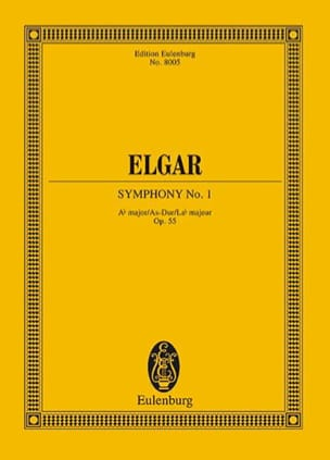 Edward Elgar - Sinfonie Nr. 1 As-Dur - Conducteur - Partition - di-arezzo.fr