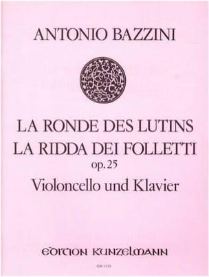 La ronde des lutins op. 25 -Cello piano - laflutedepan.com