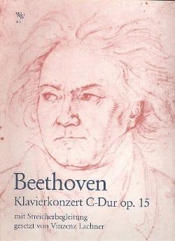 Beethoven Ludwig van / Lachner Vinzenz - Klavierkonzert C-Dur op.15 - Partition - di-arezzo.fr
