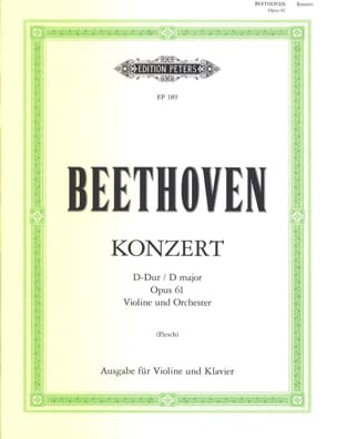 BEETHOVEN - Konzert D-Dur op. 61 - Sheet Music - di-arezzo.co.uk