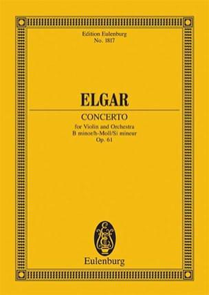 Violin-Konzert H-Moll, Op. 61 - Conducteur ELGAR laflutedepan