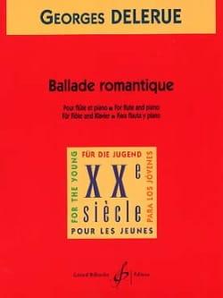 Georges Delerue - Ballade romantique - Partition - di-arezzo.fr