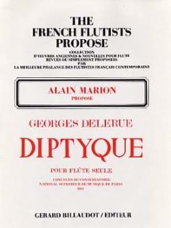 Georges Delerue - Diptyque - Partition - di-arezzo.fr