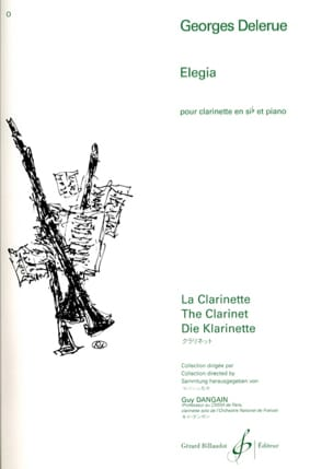 Georges Delerue - Elegia - Sheet Music - di-arezzo.co.uk