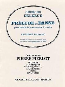 Georges Delerue - Prelude et Danse - Hautbois/Piano - Partition - di-arezzo.fr