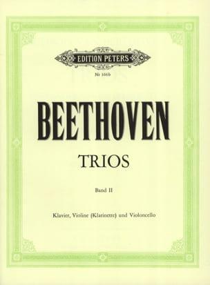 Klaviertrios - Bd. 2 Kl. Vl o. Kl Vc - Stimmen BEETHOVEN laflutedepan