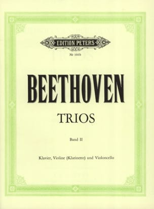 Klaviertrios – Bd. 2 (Kl. Vl (o. Kl) Vc) - Stimmen - laflutedepan.com
