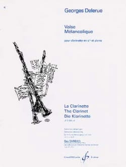 Georges Delerue - Valse mélancolique - Partition - di-arezzo.fr