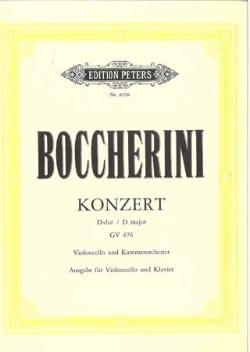 Concerto en Ré Majeur, Gv 476 - BOCCHERINI - laflutedepan.com