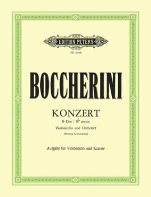 BOCCHERINI - Konzert B-Dur G.482 Fassung Grützmacher - Sheet Music - di-arezzo.com