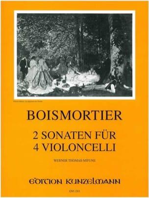 BOISMORTIER - 2 Sonatas for 4 cellos op. 34/3 - Sheet Music - di-arezzo.com