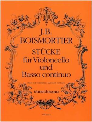 BOISMORTIER - Stücke for Violoncello und Basso continuo - Sheet Music - di-arezzo.com