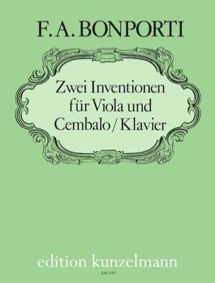 2 Inventionen für Viola und Cembalo / Klavier - laflutedepan.com